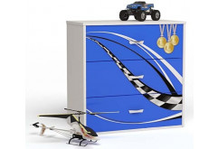 Комод Formula синий