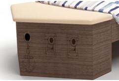 Ящик для игрушек приставной Pirat