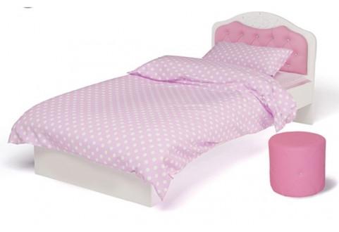 Детская мебель Кровать классик Princess Swarovski