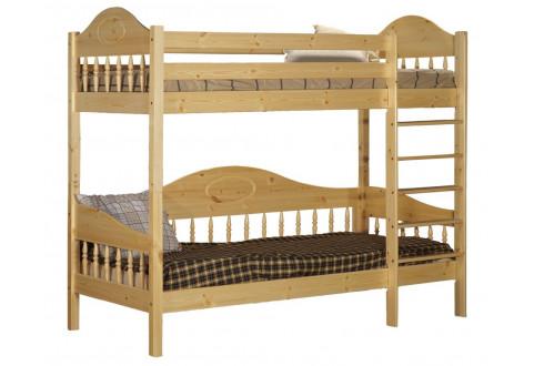 Детская мебель Кровать двухъярусная с нижней тахтой Фрея