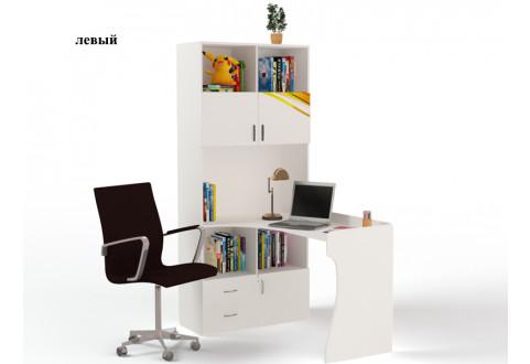 Детская мебель Стол-стеллаж Champion белый