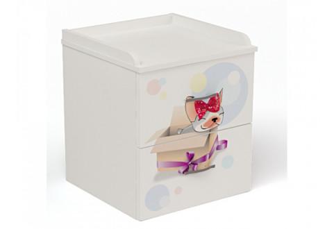 Детская мебель Тумбочка прикроватная Молли