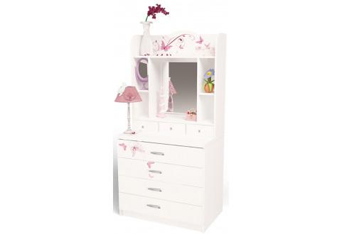 Детская мебель Комод со стразами Swarovski Фея