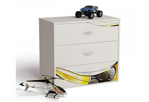 Детская мебель Комод Champion белый