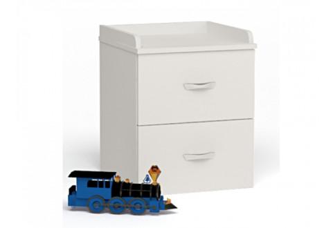 Детская мебель Тумбочка прикроватная Champion белый