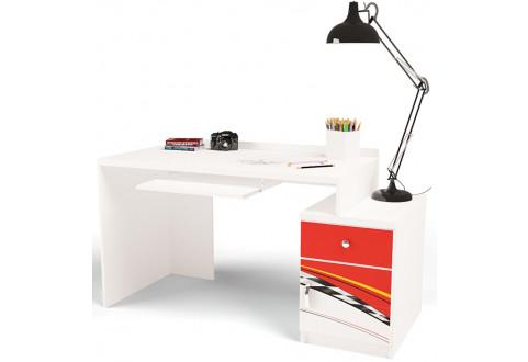 Детская мебель Стол модульный La-Man красный