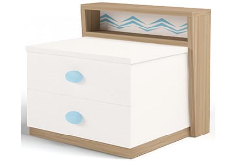 Детская мебель Тумба прикроватная Mix Ocean голубой