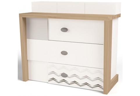 Детская мебель Комод Mix Ocean кремовый