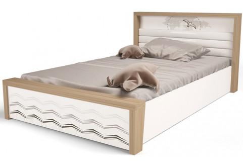 Детская мебель Кровать с подъемным механизмом Mix Ocean кремовый