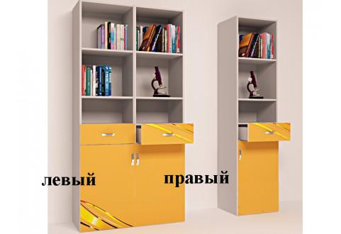Детская мебель Стеллаж узкий Champion оранжевый