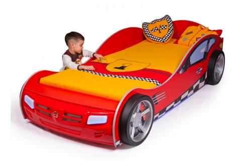 Детская мебель Кровать-машина Formula красный