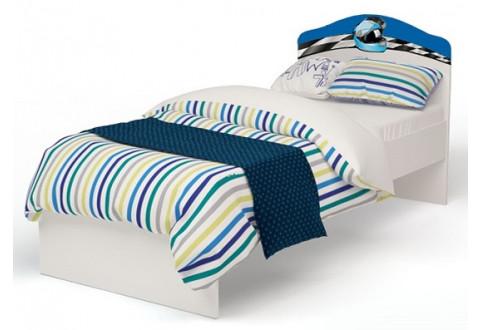 Детская мебель Кровать классика La-Man синий