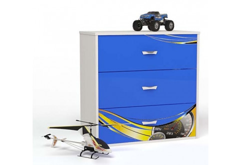 Детская мебель Комод Champion синий