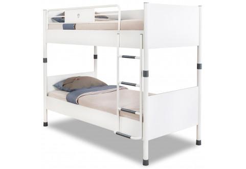 Детская мебель Кровать двухъярусная White