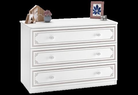 Детская мебель Комод широкий Selena Grey