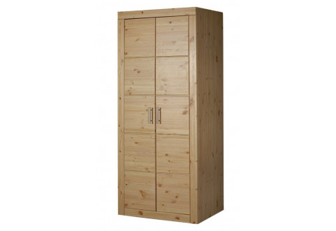 Детская мебель Шкаф двухдверный со штангой Брамминг
