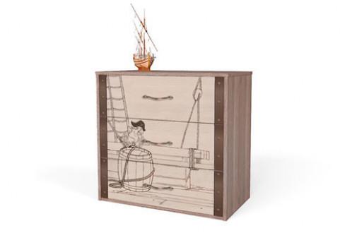 Детская мебель Комод Pirat