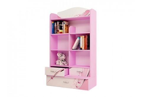 Детская мебель Стеллаж широкий Princess