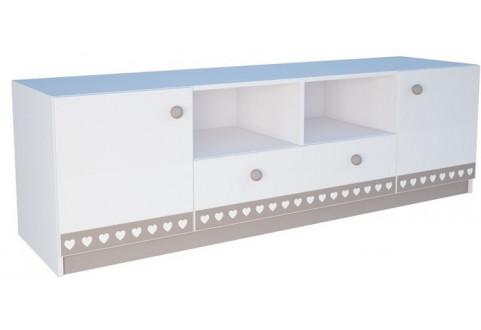 Детская мебель Тумба напольная один ящик две двери Mon coure