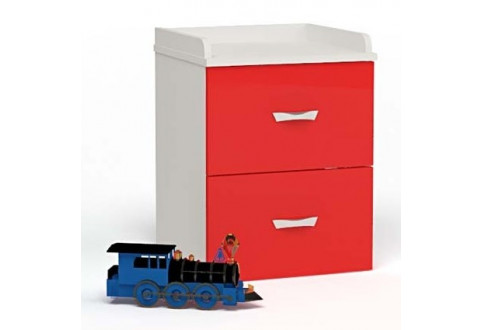 Детская мебель Тумбочка прикроватная Formula красный