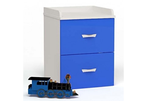 Детская мебель Тумбочка прикроватная Champion синий
