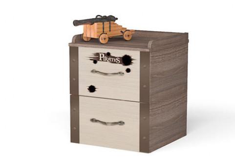 Детская мебель Тумба прикроватная Pirat