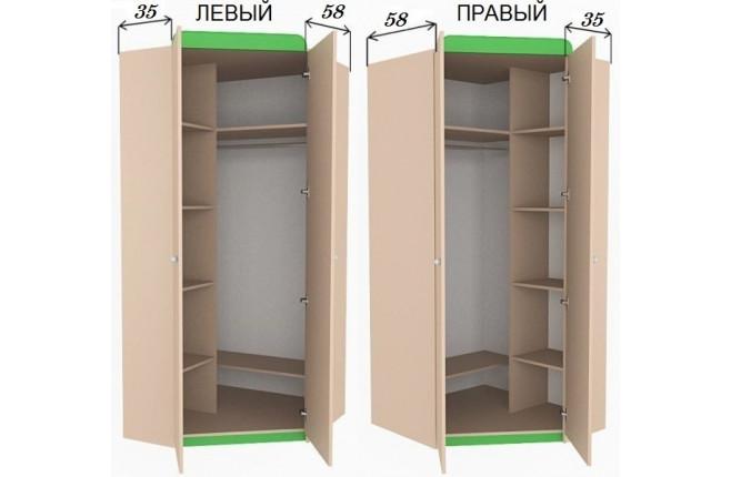 Шкаф угловой Шато