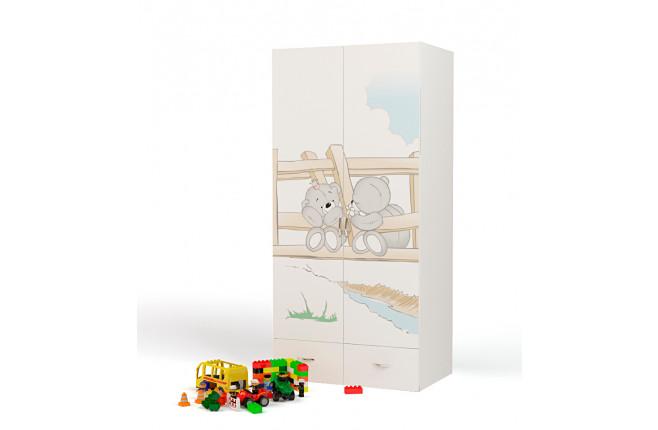 Шкаф двухдверный Bears