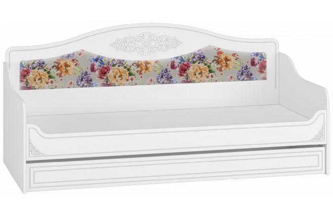 Диван-кровать с мягкой спинкой Ассоль