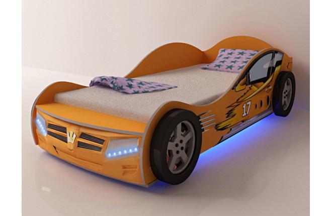 Кровать-машина Champion оранжевый
