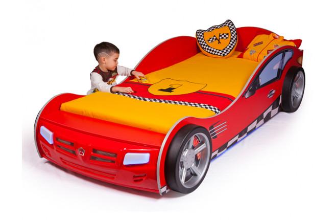 Кровать-машина Formula красный