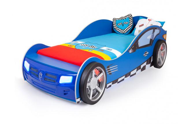 Кровать-машина Formula синий