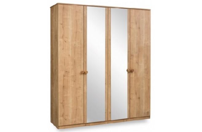 Шкаф четырехдверный Mocha