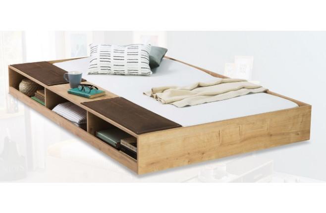 Кровать выдвижная с полками Mocha