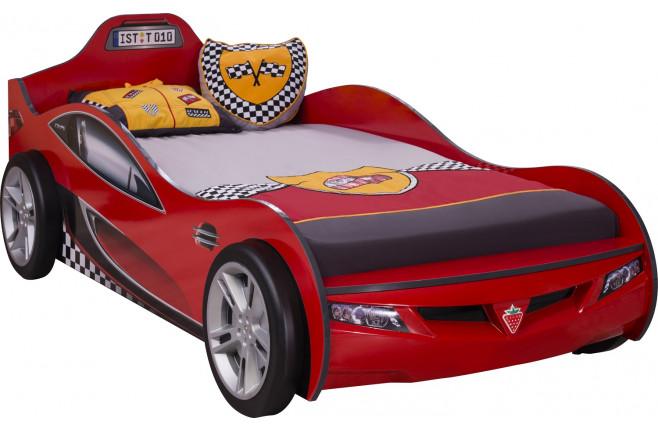 Кровать-машина красная Coupe