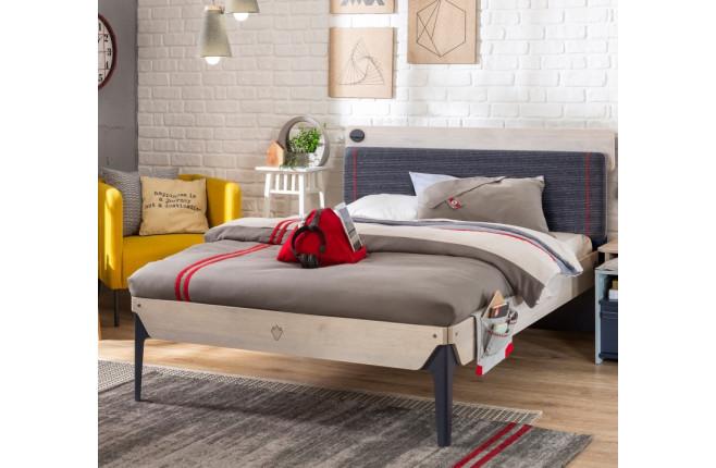 Кровать односпальная большая Trio
