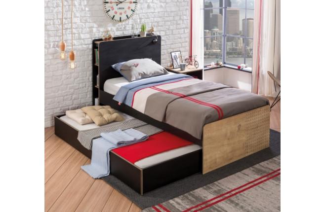 Кровать большая Black
