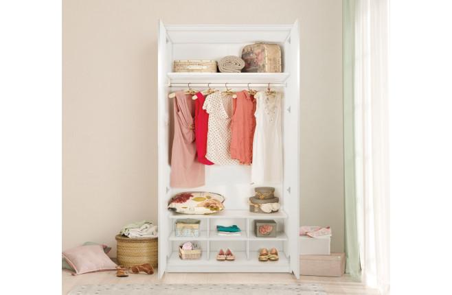 Шкаф двухдверный Selena Grey