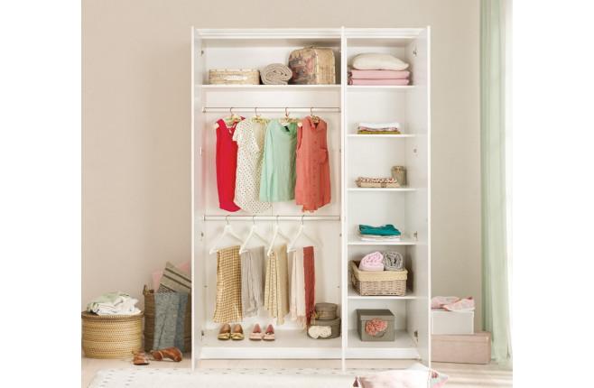 Шкаф трехдверный Selena Grey