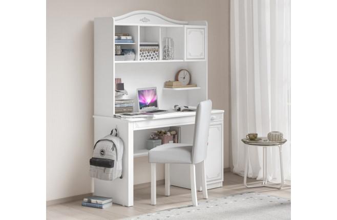 Надстройка высокая к письменному столу Selena Grey