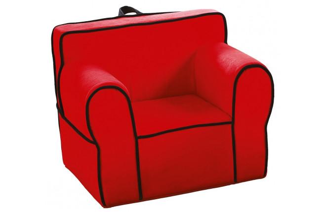 Пуфик-стул красный Comfort