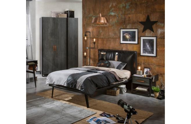 Кровать Dark Metal