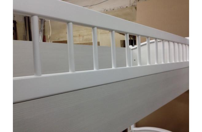 Кровать двухъярусная с лестницей Классика