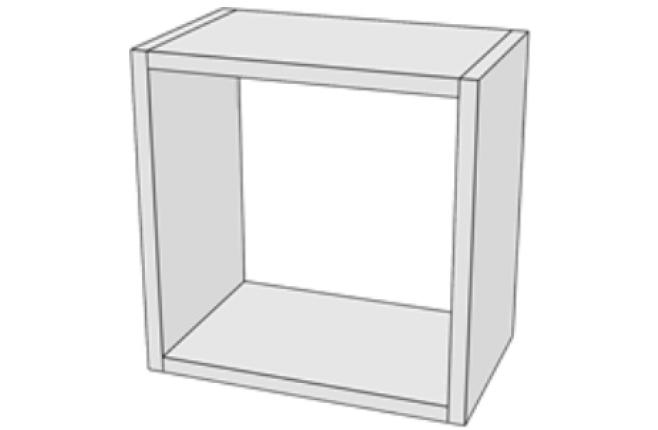 Полка куб открытая Junior
