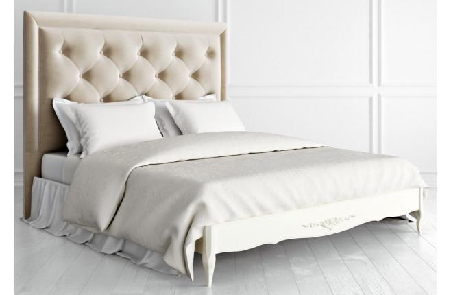 Кровать с прямым изголовьем Romantic