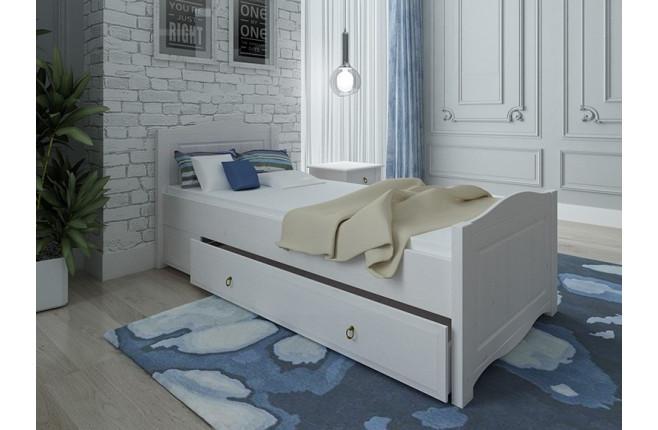 Кровать с ящиком выкатным Милано