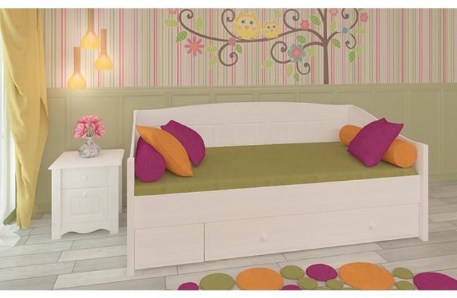 Кровать-диван с ящиком Милано