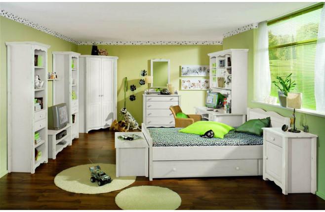 Комплект детской мебели с угловым шкафом Милано