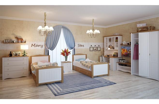 Комплект мебели для двоих детей Милано