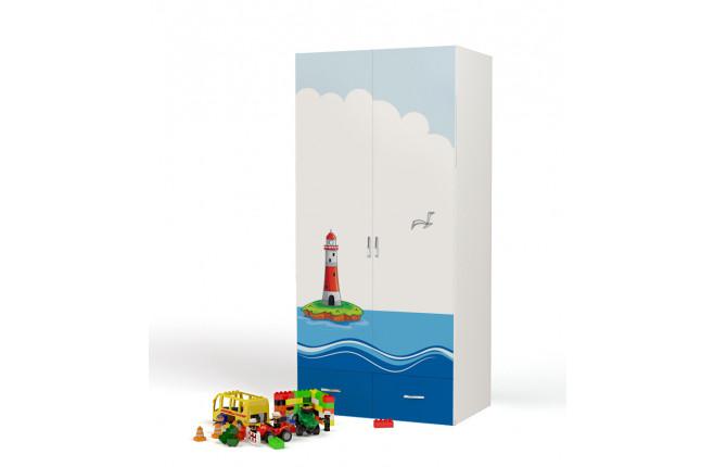 Шкаф двухдверный Ocean